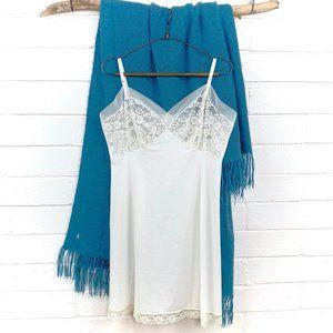 Vintage Van Raalte petticoat slip Ivory Sz 38